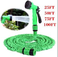Wholesale Extensible Expandable Fit FT Magic Garden Hose With Spray Water Gun For Car Pipe Flexible Hose