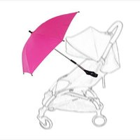 baby stroller parasol - Baby Stroller Accessories Colorful Sunshine Umbrella For Baby Pram Children Bicycles Baby Prams Shade Parasol Adjustable Folding For Chair