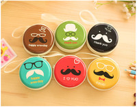 apple storage box - Lovely Cartoon Zipper Bag Earphone Cable Mini Box SD Card Portable Coin Purse Headphone Bag Carrying Pouch Pocket Case Cover Storage