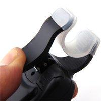 Wholesale Electronic Fish Bite Finder Alarm LED Light Bell Clip On Fishing Rod Black