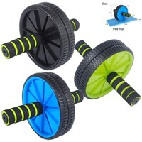ab roller sale - HOT SALE Dual Wheels Men and Women Fitness Wheel for AB Roller Workout Exercise Fitness Sport Equipment