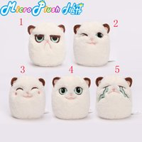 bags cat toys - Grouchy kitten angry cat happy cat cute cat plush toy bag small pendant ornaments Pissed Off Toys Cat