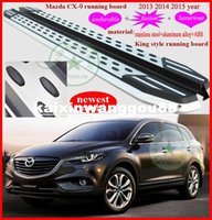 aluminum running boards - 2013 Mazda CX running board side step bar newest stainless steel aluminum alloy
