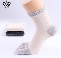Wholesale 2016 summer leisure sports Cotton five fingers socks menAntibacterial Deodorant Sweat Sports Socks manufacturer p YS BOF005