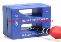 Wholesale New Magnetizer Demagnetizer Tool Blue Screwdriver Magnetic Pick Up Tool Screwdriver