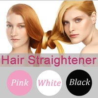 auto tools pro - Free Sample Hair Straightener Brush Pro Auto LCD magic hair Comb Digital Straightening Irons Salon styling Tool Pink Hair Straighteners