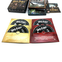 box dvd set wholesale - Harry Potter The Complete Film Collection Disc Set US Version Box set dvd Brand New