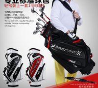 Wholesale 2016 golf bag promotional price brand stand golf bags pu golf club cart bag high qulity new men golf ball bags