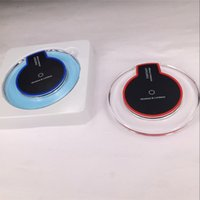 Wholesale Wireless Charger Power banks new Luxury Qi Charging For Samsung S6 Edge s7 edge Fantasy High Efficiency pad for samsung mobile