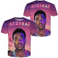 acid rap - NEW Acid Rap Chance the rapper mixtape D All over Print Graphic Tee T Shirt BlacK multi PURPLE Tyga Hip Hop