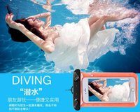 abs bags - For iphone s waterproof bag Universal waterproof phone case Iphone S plus phone cases Cell Phone Dry Bag