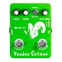 Wholesale JOYO JF Voodoo Octave Fuzz Effect Guitar Effect Pedal True Bypass
