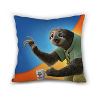 Wholesale New Arrival Cartoon Zootopia Character inch Throw Pillowcase High Quality CM Home Hotel Car Decoration Pillow Cases Anastasia