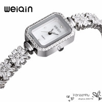 Wholesale 2016 Real Weiqin Brand New Fashion Lady Gold Watches Women Full Stainless Steel Quartz Watch Wristwatches Relojes Mujer Relogio Feminino