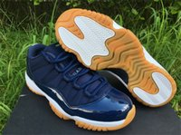 best gum - Best Air Jordan Retro Navy Gum Low XI Jordans s Hot Sale Basketball Shoes With Box