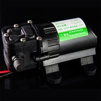 großhandel water pressure pump-3.5L / min Hochdruck-Membran Wasserpumpen Zentrifugal Wasserpumpe Mini DC 12V Selbstansaugende Wasser-Pumpe