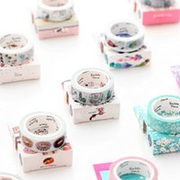 Wholesale Japan and paper tape original and Feng Shui color hand account tape album diary decorative DIY color tape