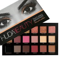 Wholesale Huda Textured Beauty Rose Gold Palette Eye Shadows Palette Brand New Makeup Contour Metallic Palette Eyes Shadow Makeup Contour Metalli