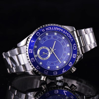 Wholesale Famous design Fashion Men Big Watch Gold silver Stainless steel High Quality Male Quartz watches Man Wristwatch
