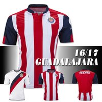 Wholesale Guadalajara Chivas season home and away jerseys O BRAVO REYNA DE NIGRIS ARCE football Shirts season player game equipment
