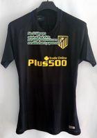 slim away - top slim fit jersey player version atletico madrid away kit soccer jersey