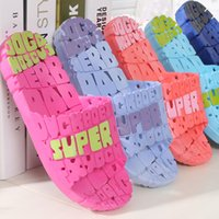 Wholesale 2016 hot sale men s Indoor footware hollow outdesign PVC Material hotel shoes