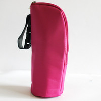 Wholesale Multicolor Thermal Feeding Bottle Warmers Mummy Tote Bag Hang Stroller cloth aluminium film