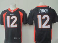 Wholesale 2016 NEW Draft Paxton Lynch Broncos blue white orange Elite Football Jerseys for Men Mix Order