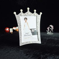 Wholesale 2016 New hot sale photo frame Durable Lovely Family Photo Picture Frame Wedding Home Decor Desktop Wall Picture Frame PF