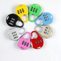 Wholesale New combination padlock Pull rod box combination lock box parcel trick lock password padlock mini Travel Lock combination lock