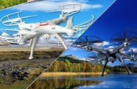 Wholesale Wltoys quadcopter RC wifi Drone FPV Helicopter Quadcopter with HD Camera G Axis Real Time RC SYMA X5SW Helicopter