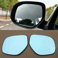 Wholesale Auto parts Car Rear View Mirror Wide angle Hyperbolic Blue Mirror Arrow LED Turn Signal with Heating Light For Mitsubishi ASX