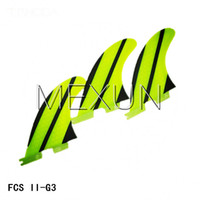 Wholesale 2015 High quality FCS II fins G3 with fiberglass honey comb material for surfing S size fins very nice