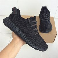 Hight Cut basketball high socks - Kanye West Boost Designed Black Classic Low Top Sneakers Highest Quality Sports Shoes With Original Box Receipt Socks