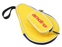 andro table tennis - Andro gourd Shape Table Tennis cover pingpong bag three colors