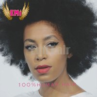 Cheap Cheap Afro Kinky Curly Synthetic Wig lace front wig African American Short Wigs For Black Women Curl Heat Resistant Female Wig