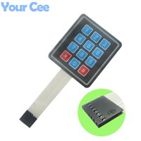 Wholesale x3 Matrix Array Key Membrane Switch Keypad Keyboard Control Panel Microprocessor Keyboard for Arduino AVR