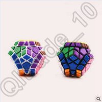 Wholesale 192pcs CCA4176 High Quality Colorful Megaminx Puzzle Speed Magic Cube Puzzle Cubes Sides Sticker Educational Toy Special Toys Rubik Cube