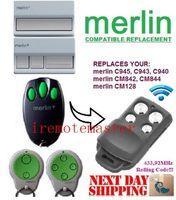 Wholesale Top quality Merlin C945 C943 C940 Merlin CM842 CM844 CM128 garage door replacement remote control transmitter