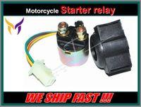yamaha atv electrical parts - Street ATV Motorcycle Electrical Parts Starter Solenoid Relay Lgnition Key Switch For Yamaha TRI MOTO YTM200