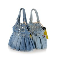 blue jean skirts - New Skirt Style Jean Denim Bags Women Messenger Bags Women Shoulder Bags Clutch Women Handbag