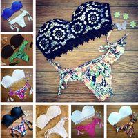 Wholesale 2016 Summer Bikini Set Swimwear Bikini Women Swimwear Push Up Swimsuit Bathing Suit Bikini Brazilian Biquini Maillot De Bain