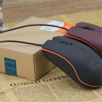 Wholesale Lenovo M20 Classical Wired Mini Optical Mouse USB Universal Box Original Value Gaming Mouse for Laptop