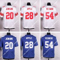 apple sweatshirts - Hot York NIK Elite NY Giants Sterling Shepard Eli Apple Jenkins Men Stitched Embroidery Logos America Football Jerseys Sweatshirts