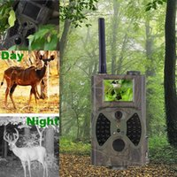 Wholesale 12mp night vision waterproof Infrared hunting video camera HC300M mms Hunting trail camera for outdoor wildlife survillance