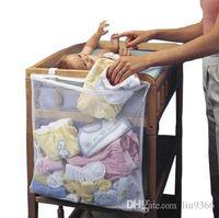 Wholesale baby bedding set big crib storage bag pocket change clothes baby cot jogo de cama kit berco baby bed linen cuna kid