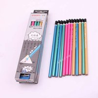 Wholesale High Quality Wooden Pencil For kids Standard Cartoon HB pencil for drawing and writing Office school supplies Nice Children gifts