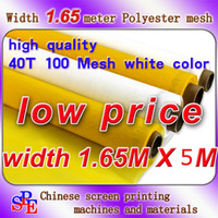 Wholesale mesh baby T mesh polyester screen printing mesh width cm quot meters long white color and