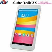 Wholesale Cube U51GT C4 Talk X MTK8321 Quad core tablet pc Android G G FM GPS Bluetooth inch IPS