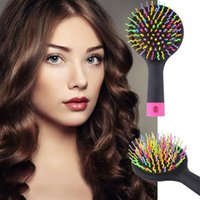 Cheap Round Brush hairbrush hair Best All Hair Types PVC tangle hair